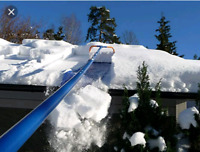 roof top snow removal, snow blowing, snow shoveling