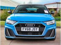 2018 Audi A1 30 TFSI S Line 5dr S Tronic Auto Hatchback Petrol Automatic