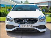 2018 Mercedes-Benz CLA CLASS Mercedes-Benz CLA 200d 2.1 AMG Line 4dr Nav Coupe D