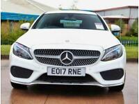 2017 Mercedes-Benz C Class Mercedes-Benz C Coupe C200 2.0 AMG Line 2dr Auto 19in