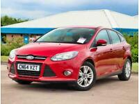 2014 Ford Focus 1.0 125 EcoBoost Titanium Navigator 5dr Hatchback Petrol Manual