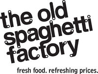 The Old Spaghetti Factory is Hiring : HOSTS AND SERVERS