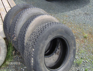 TIRES various sizes13 to 20 inch single  or sets of 2 or 4 tires Prince George British Columbia image 2