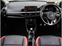 2017 Kia Picanto Kia Picanto 1.0 GT-line 5dr Hatchback Petrol Manual