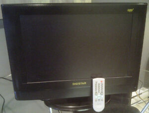 "TV 19"" ""DIGISTAR"" LC-191OD  HDTV LCD & REMOTE"