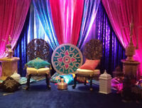 wedding decor services, mend,nikkah,sangeet,walima