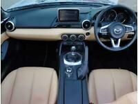 2015 Mazda MX-5 Mazda MX-5 2.0 Sport Nav 2dr Leather Convertible Petrol Manual
