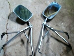 a pair of towing mirrors