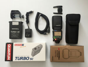 Flash for Canon,  Yongnuo YN 600 EX with Quantum battery pack