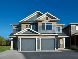 WEST END DUPLEXES FOR SALE!  BRAND NEW WITH ATTACHED GARAGE!