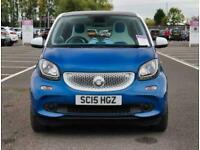 2015 smart forfour Smart Forfour 0.9 Turbo Proxy Premium 5dr Hatchback Petrol Ma