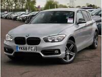 2018 BMW 1 Series BMW 1 118d 2.0 Sport Nav 5dr Hatchback Diesel Manual
