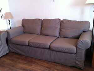 Ikea Ektorp - Couch Cover & Loveseat cover