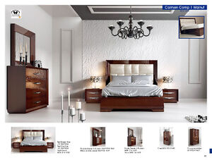 Franco Bedroom Set Maid in Spain (New from Showroom)