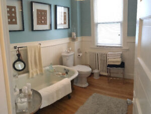 Fully Furnished Short Term Winter Rental Downtown Walkable