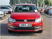 2015 Volkswagen Polo Volkswagen Polo 1.2 TSI 90 SE 5dr DSG Auto Hatchback Petrol