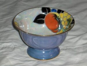 Noritake M Morimura handpainted made in Japan fluted bowl 1920's West Island Greater Montréal image 1