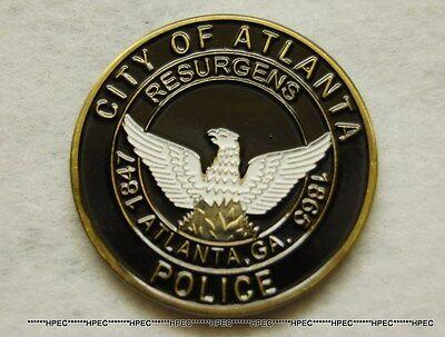 ATLANTA POLICE DEPARTMENT Challenge Coin ATL Georgia Officer Badge Detective