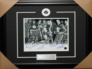 Toronto Maple Leafs 1967 Stanley Cup Team signed frame
