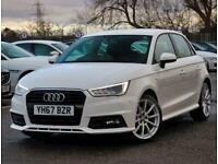 2017 Audi A1 1.4 TFSI S Line 5dr Hatchback Petrol Manual