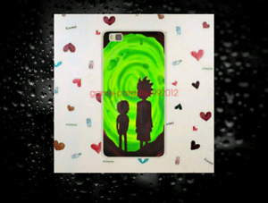 1   I PHONE 7 PLUS PHONE COVER AND 3   RICK AND MORTY PENDANTS