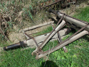 Antique Horse Wagon Parts