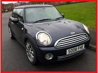 MINI COOPER 2008 1.6 120 BHP + BLACK + FULL SERVICE HISTORY +