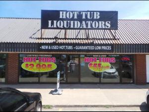 USED SPA'S!!!! ----ALL MUST GO!!!----HOT TUB LIQUIDATORS