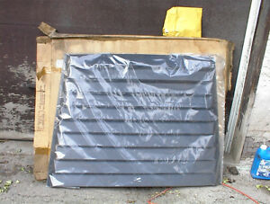 NEW #7103 ALUMINUM REAR LOUVER FOR 82-UP CHEV CAVILIER,ETC