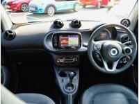 2017 smart fortwo Smart Fortwo Coupe 1.0 Prime Premium 2dr Auto Coupe Petrol Aut