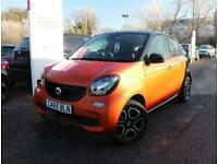 2015 smart forfour 0.9 Turbo Prime Premium 5dr Hatchback Petrol Manual