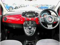 2018 Fiat 500 1.2 Lounge 3dr Hatchback Petrol Manual
