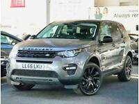 2016 Land Rover Discovery Sport 2.0 TD4 180 HSE Black 5dr Auto 4x4 Diesel Automa