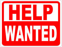 HELP Wanted - Sales People and General Labour Needed for Bridal