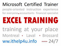 Microsoft Excel - Support at your place