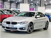 2017 BMW 4 Series 420d [190] M Sport 2dr Auto [Professional Media] Coupe Diesel