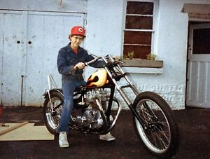 1968 Triumph Chopper Found