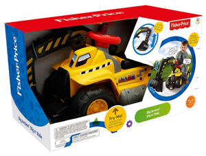 Fisher Price - dig & ride excavator  for kids!