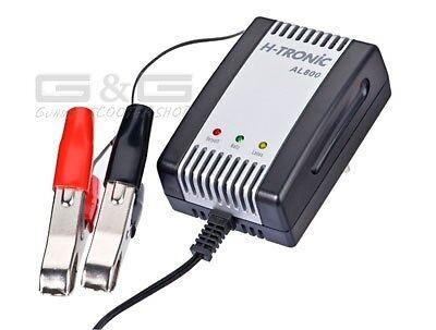 Cargador de Batería H-Tronic AL800 2V 6V 12V para Coche Moto Scooter Baterías