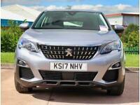 2017 Peugeot 3008 Peugeot 3008 1.6 BlueHDi 120 Active 5dr 18inAlloys SUV Diesel