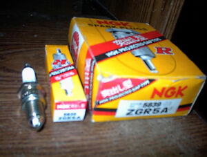NEW BOX OF 10 NGK BMW,ETC ZGR5A PROJECTED TIP SPARK PLUGS $5.EA