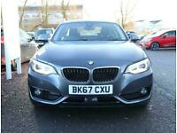 2017 BMW 2 Series Bmw 2 Coupe 218i 1.5 Sport 2dr Auto Nav Coupe Petrol Automatic