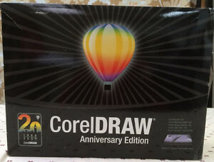 Corel Draw Anniversary Edition with Wacom Intuos A6 Wide Sketch