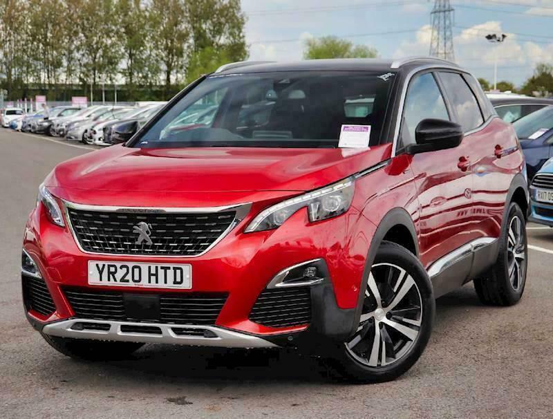 2020 Peugeot 3008 1.2 PureTech GT Line 5dr Estate Petrol Manual