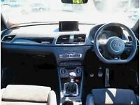 2018 Audi Q3 2.0 TDI Quattro Black Edition 5dr 4x4 Diesel Manual