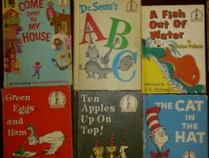 DR SEUSS HARDCOVER BOOKS,  OLDER VERSION WITH MATT COVERS