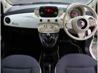 2018 Fiat 500 Fiat 500 1.2 Pop Star 3dr Hatchback Petrol Manual