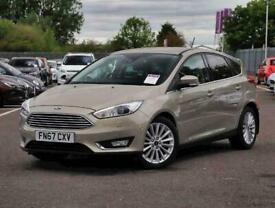 image for 2017 Ford Focus 1.0 EcoBoost 125 Titanium X 5dr Auto Hatchback Petrol Automatic