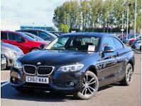 2018 BMW 2 Series BMW 2 Coupe 218i 1.5 Sport 2dr Nav Coupe Petrol Manual