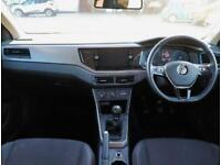 2018 Volkswagen Polo Volkswagen Polo 1.0 65 SE 5dr Hatchback Petrol Manual